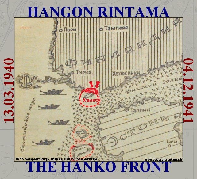 Hangon Rintama - The Hanko Front: 13.03.1940 - 04.12.1941